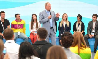 Putin: As long as I'm president, there'll be no gay marriage in Russia
