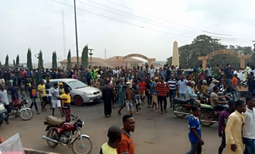 'Five killed' as protest rocks Sagamu over footballer's death