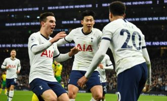 Tottenham win against Manchester City gifts Liverpool 22-point lead