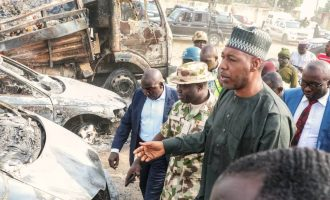 Zulum shouts at army commander over fresh Boko Haram attack