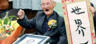 'Just smile, never get angry' ⁠— world's oldest living man reveals secret to longevity