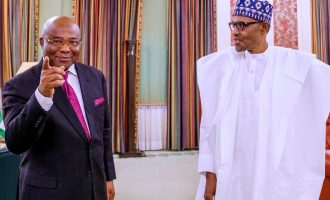 Uzodinma meets Buhari, seeks refund of N32bn 'spent on FG roads in Imo'