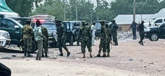 Soldiers on ground as el-Rufai visits Sanusi in Awe