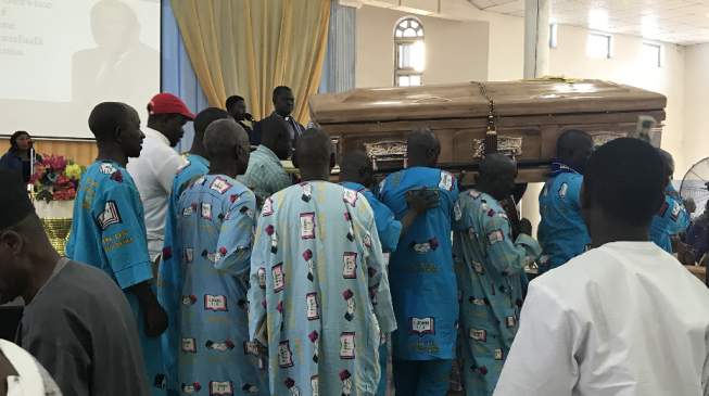 Tributes as late CAN general secretary is buried
