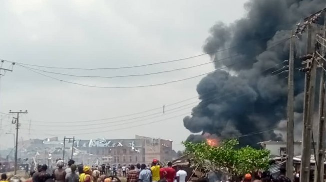 Many houses destroyed as explosion rocks Lagos