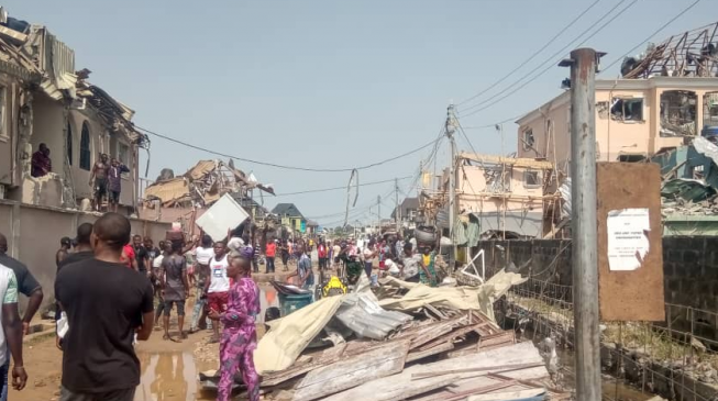 NEMA: Over 50 houses destroyed in Lagos explosion