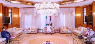Health minister: What we discussed with Buhari in Aso Rock