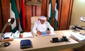Buhari's office or study? Confusion over State House fumigation sparks Twitter storm