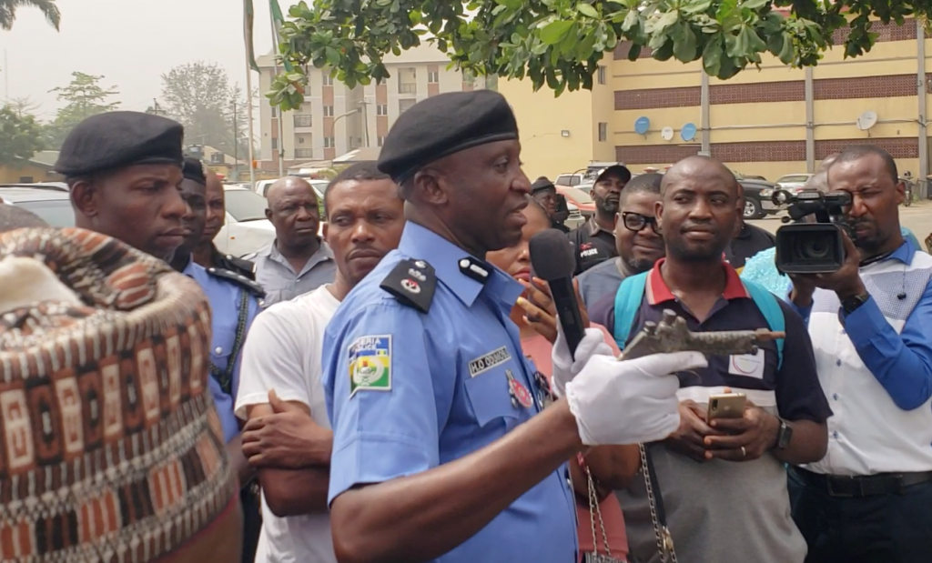 CP: Criminals planning an attack on churches, mosques in Lagos