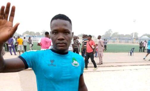 Chieneme Martins, Nasarawa United player, slumps, dies during match