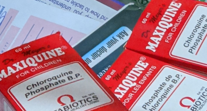 ALERT: Lagos hospitals 'now treating' patients suffering from chloroquine poisoning