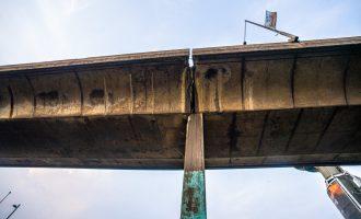 ALERT: Traffic diverted as Lagos closes section of Eko bridge for repairs