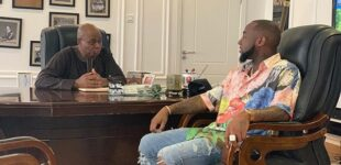 Davido: My dad used to work at US fast food restaurant