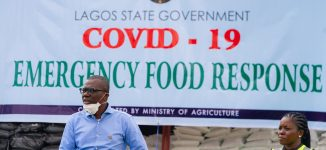 PHOTOS: Lagos provides food for residents affected by COVID-19 lockdown