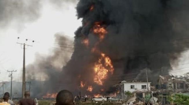 NEMA: Pipeline vandalism not cause of Lagos explosion