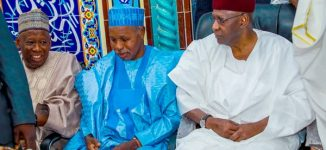 PHOTOS: Ganduje, Kyari, Dangote grace IGP son's wedding in Abuja