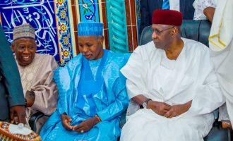PHOTOS: Ganduje, Kyari, Dangote grace IGP son's wedding in Abuja