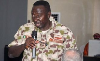 TRENDING: Sacked army commander complaining about poor equipment against Boko Haram