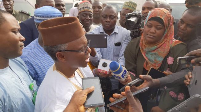 JUST IN: Sanusi can go anywhere, including Kano, says el-Rufai