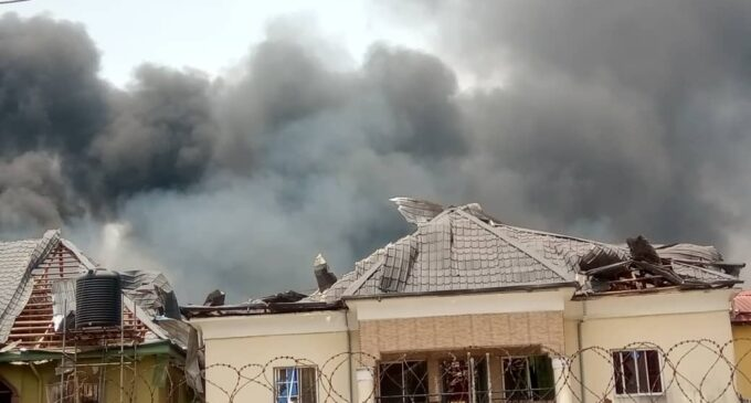 Witness on Lagos explosion: Catholic priest lost his life while trying to save trapped students