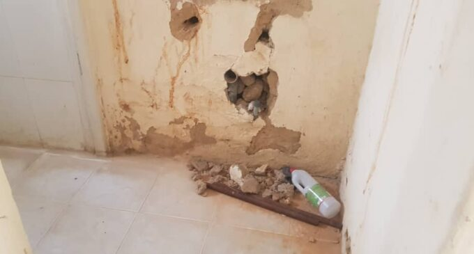 PHOTOS: Inside the dilapidated Kano isolation centre