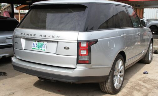 PHOTOS: Exotic cars, hotel seized from 30-year-old 'fraudster' in Lagos