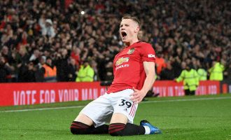 Martial, McTominay score as Man United complete derby double over City