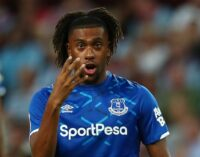 Iwobi self-isolates alongside Everton squad as player shows coronavirus symptoms