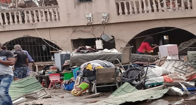 Lagos explosion: How elderly woman lost UK-based son and daughter who was to wed in six days