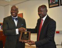 FBI honours Magu for helping US arrest '167 fraudsters' in Nigeria