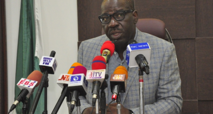 Obaseki: Oshiomhole angry with me because I didn't allow him become godfather