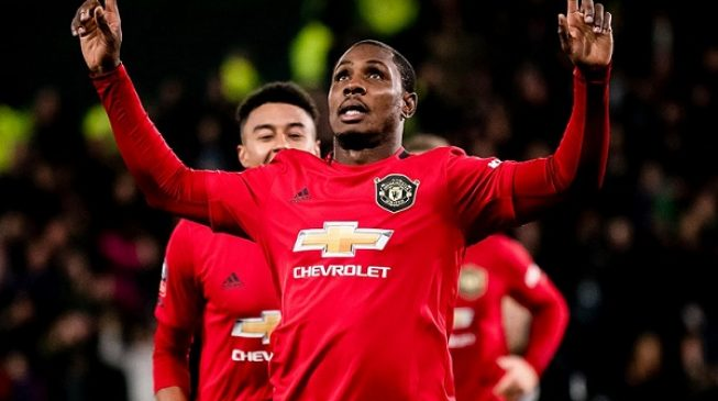 Ighalo double helps Man United knock Derby County out of FA Cup