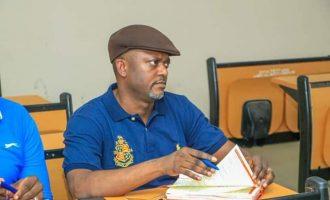 EXTRA: Edward Onoja, Kogi deputy gov, goes back to school