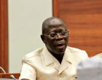 Oshiomhole: I accept dissolution of APC NWC in good faith