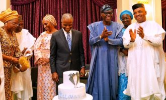 PHOTOS: Gowon, two governors in Aso Rock as Osinbajo marks 63rd birthday
