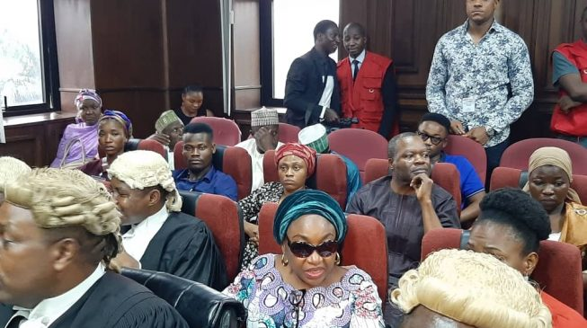 PHOTOS: EFCC arraigns Oyo-Ita over 'N570m fraud'