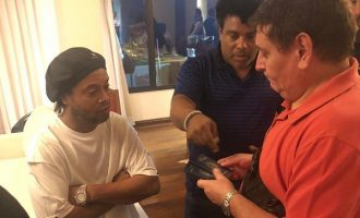 Ronaldinho held by police in Paraguay over 'fake passport'