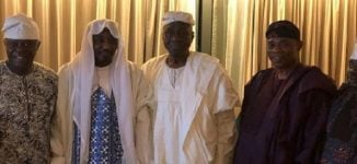 PHOTOS: Oba of Lagos visits Sanusi