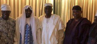 PHOTO: Oba of Lagos hosts Sanusi