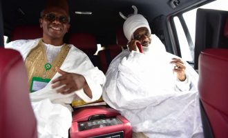 Finally, Sanusi leaves Awe after judicial victory