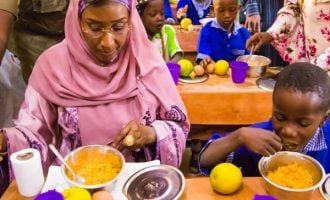 FG targets 37,000 people as school feeding programme commences in Lagos