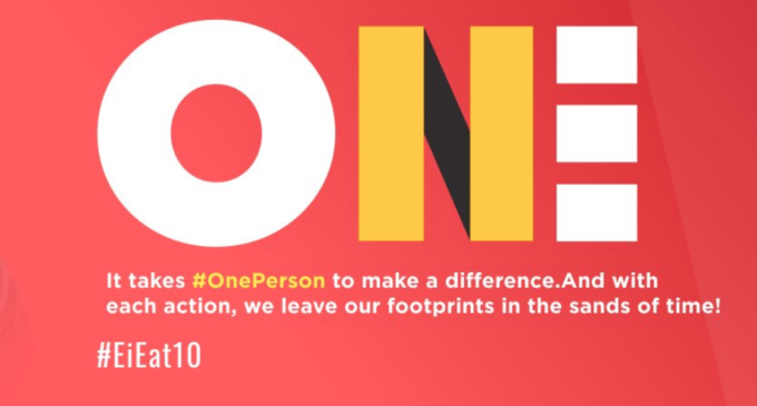 10th anniversary: EiE launches #OnePerson campaign to inspire action