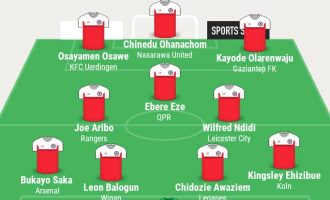 Saka, Ehizibue, Aribo… TheCable's team of the week