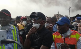 Sanwo-Olu sets up N2bn relief fund for victims of Lagos explosion
