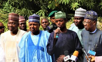 'Why I acted that way' — man who rushed towards Buhari speaks