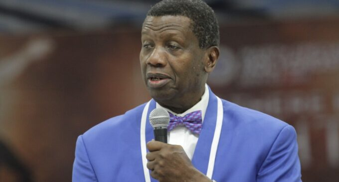 Adeboye speaks on source of God's power at RCCG's Holy Ghost Service