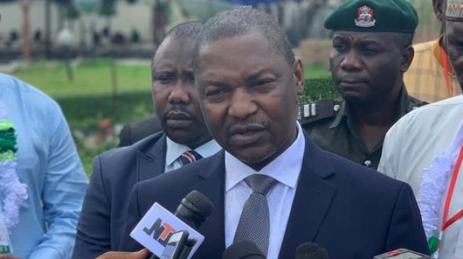 Malami silent on $1.5bn demand by 'debt collectors' but says he doesn't own firm