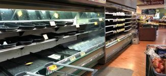 Coronavirus scare! Grocery store thrashes $35,000 in food it says woman deliberately coughed on