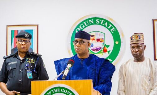 Abiodun: 150 suspects have been arrested over recent unrest in Ogun