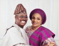 I caught your dad cheating on me but forgave him, Ajimobi's wife tells daughter